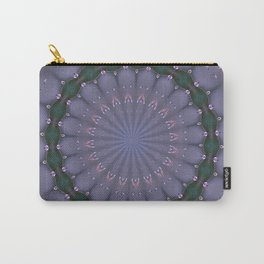BUTTERFLIES AND BEADS IN PURPLE Carry-All Pouch