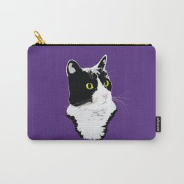 Regal Tuxedo Kitty Carry-All Pouch