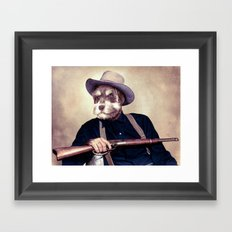 Wayne Dog Framed Art Print