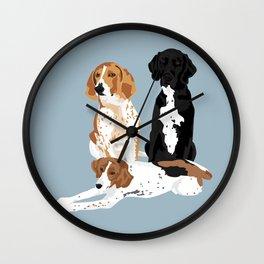 Elvis, Judd and Glory Bea Wall Clock