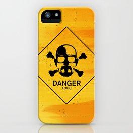 Breaking Heisenberg Danger Sign iPhone Case