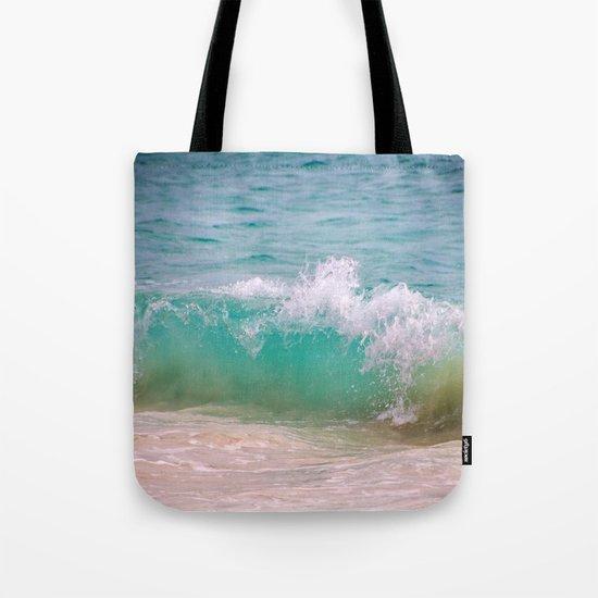 Caribbean Wave Tote Bag