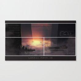 Megalopolis Canvas Print