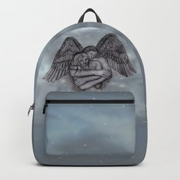 Eros , Amor - Angel and Woman in Love Backpack
