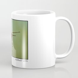 The Spanish Red Dragon Fly Coffee Mug
