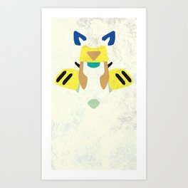 Medabots - Sumilidon Art Print