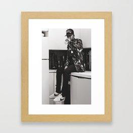 sip Framed Art Print
