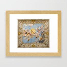Apotheosis of Emperor Charles VI (Göttweig Abbey Fresco) Framed Art Print