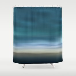 Dreamscape #7 blue-green Shower Curtain