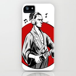 Music and war iPhone Case