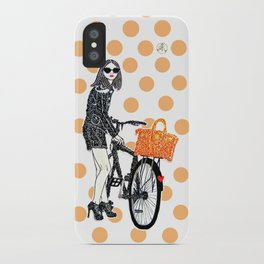 Olivia Palermo iPhone Case