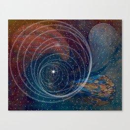 Singularity Canvas Print