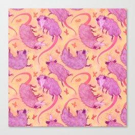 Possum Squad Canvas Print