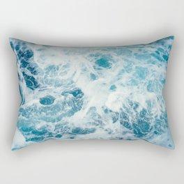 Sea Texture Rectangular Pillow