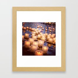 hope floats Framed Art Print