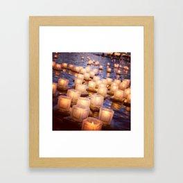 hope floats Framed Art Print