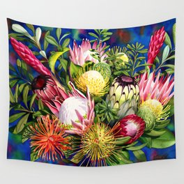 Protea Bounty Wall Tapestry