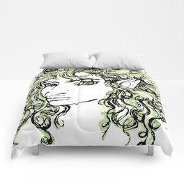 Female elf profile 1 Comforters