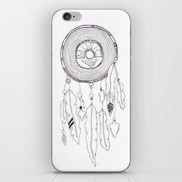 music catcher iPhone Skin