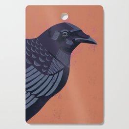 Crow Cutting Board