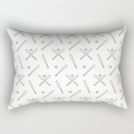 Baseball sport pattern Rectangular Pillow