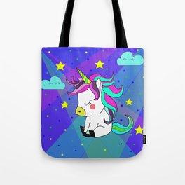 Love Unicorn Tote Bag