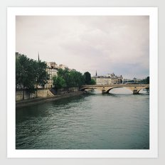 dreaming of paris Art Print