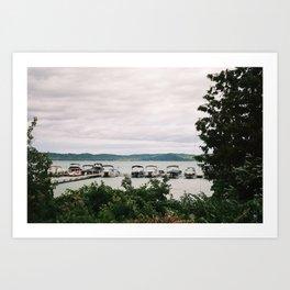 Boat Day Art Print