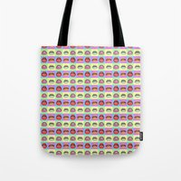 popart Tote Bags featuring Popart Braces by maayab
