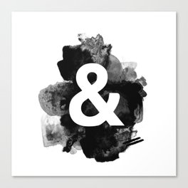 Ampersand Paint Canvas Print