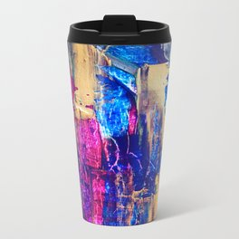 Strokes Metal Travel Mug