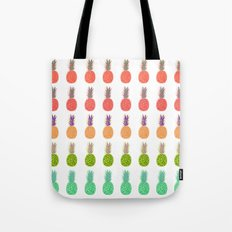 Pineapples - Tropicana Tote Bag