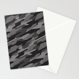 Modern Grey camouflage pattern. Vector illustration background  Stationery Cards