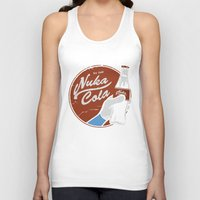 fallout Tank Tops featuring Nuka Cola Fallout drink by Krakenspirit