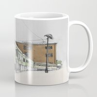 hook Mugs featuring Red Hook by Lane Scarano