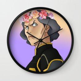 Lin Beifong - Flower Crown Wall Clock