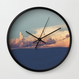 Desert Lullaby Wall Clock