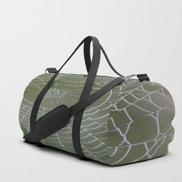 Spiderweb in the Mist Duffle Bag