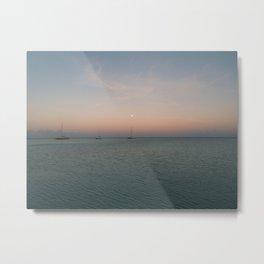 Morning at Palm Beach, Aruba - I Metal Print