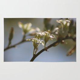 Hesperaloe Parviflora Flower Closeup Rug