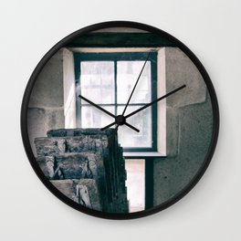 Le moulin et sa roue / The mill and its wheel Wall Clock