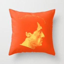 Sylvester Stallone Throw Pillow