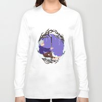 jack frost Long Sleeve T-shirts featuring Jack Frost Circlet by Z Doodle