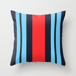 Martini Racing Colours Throw Pillow