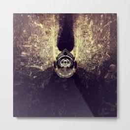 Exposure Art - Golden Devil Metal Print