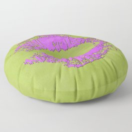 dp048-7 Watercolor kiss Floor Pillow