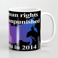 bisexual Mugs featuring Boycott Sochi - Bisexual Flag Gradient by Boycott Sochi