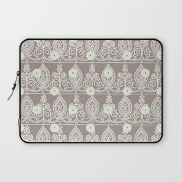 Gypsy Lace in Neutral Laptop Sleeve