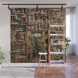 So many books, so little time. Wall Mural
