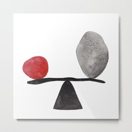 the red stone Metal Print